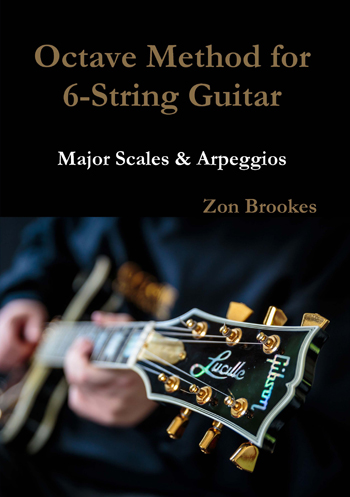 Octave Method for 6-String Guitar Paper Book