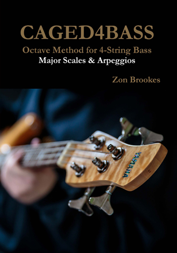 Octave Method for Low B : 5-String Bass Paper Book