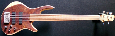 Roscoe fretless CS5 Plus
