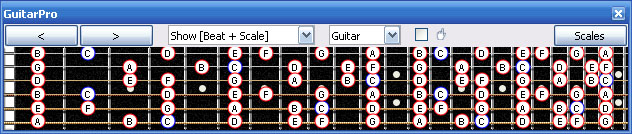 GuitarPro6 Mike Mushok tuning