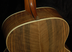 Lowden baritone neck joint