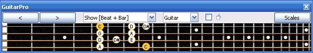 GuitarPro6 4G1 box shape