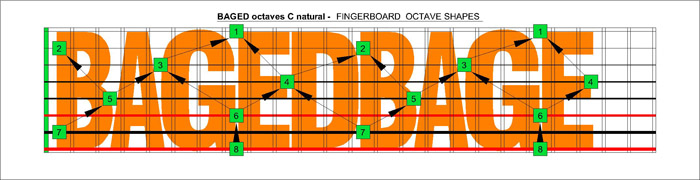 BAGED octaves C natural