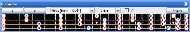 GuitarPro6 C pentatonic major