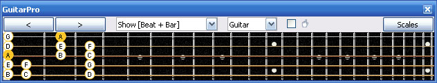 GuitarPro6 3Am1 box shape