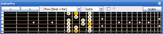 GuitarPro6 6E4E1 box shape
