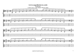 CAGED octaves C major arpeggio (3nps) box shapes TAB pdf