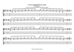 DCAGE octaves D minor arpeggio (3nps) box shapes TAB pdf