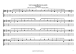 EDCAG octaves E minor arpeggio (3nps) box shapes TAB pdf