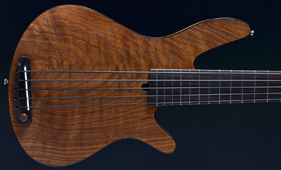 Rob Allen mb-2 Walnut Fretted