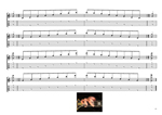 GEDCA octaves G major arpeggio (3nps) box shapes GuitarPro6 TAB pdf