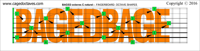 BAGED octaves : C natural