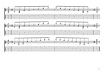 C major arpeggio (8-string: Drop E) box shapes TAB pdf