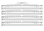 8-string:Drop E - A minor arpeggio (3nps) box shapes TAB pdf