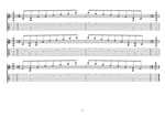DBAGE octaves D minor arpeggio box shapes TAB pdf