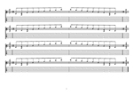 8-string (Drop E) : E minor arpeggio (3nps) box shapes TAB pdf