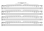 8-string (Drop E) : F major arpeggio (3nps) box shapes TAB pdf