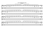 8-string (Drop E) : B diminished arpeggio (3nps) box shapes TAB pdf