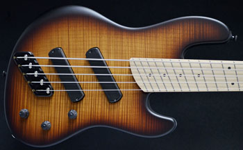Dingwall Super J5 Vintageburst Flame Maple Top