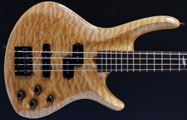 Roscoe Century 4 Custom 5A Quilted Maple Top