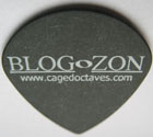BLOGoZON plectrum