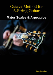 eBook Cover: Octave Method for 6-String Guitar