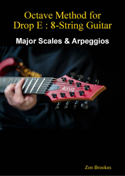eBook Cover: Octave Method for 7-String Guitar (Low B)